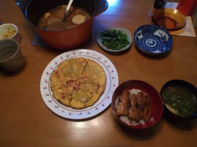 10.15夕食