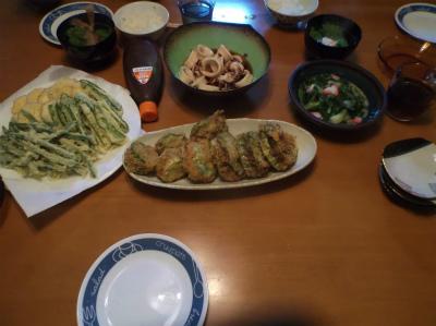 10.22夕食