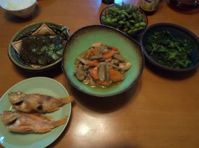 10.25夕食