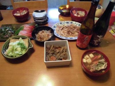 10.29夕食
