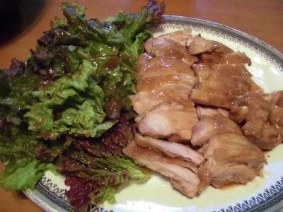 10.10鶏のタレ焼き