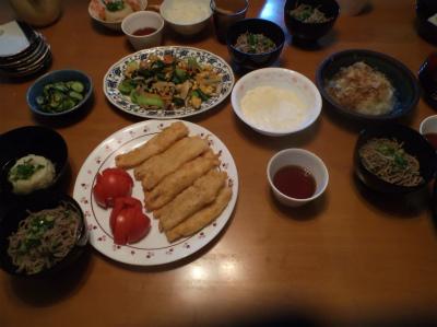 11.6夕食