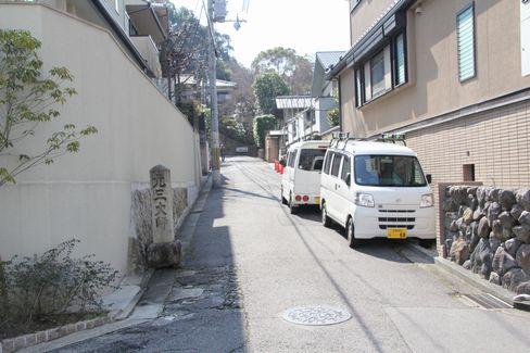 尊勝院・粟田山荘への道_H28.03.02撮影