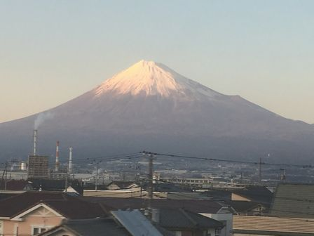 夕方の富士山_H28.03.03撮影