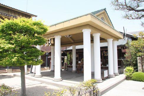 飛行神社・拝殿_H28.05.02撮影