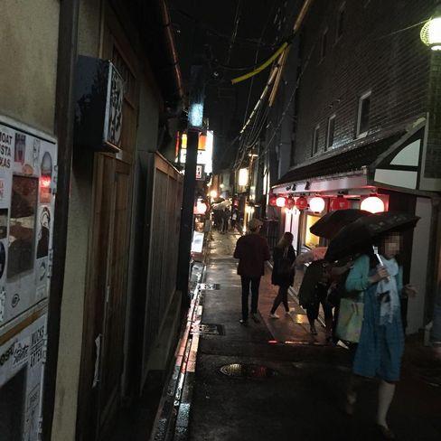 夜の先斗町_H28.05.02撮影