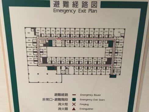 京都ロイヤルホテル&スパ館内見取り図_H28.05.02撮影