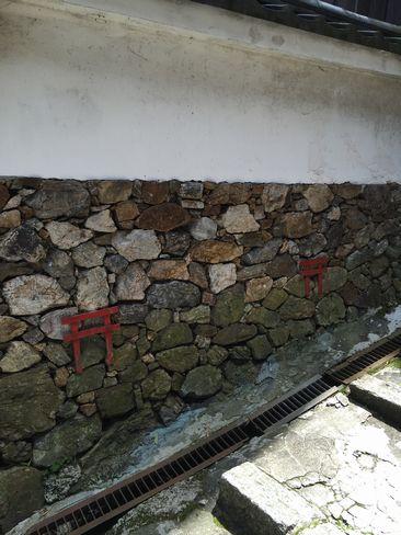 法輪寺の小便除け鳥居_H28.05.04撮影