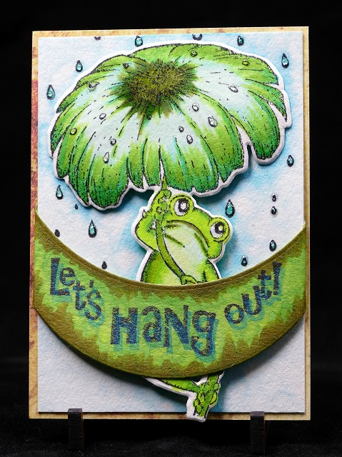 Winking Frog Collection Artisttradingcard