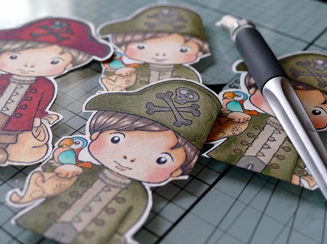 La La Land Crafts Pirates Luka Artisttradingcard