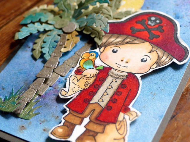 La La Land Crafts Pirates Cardmaking
