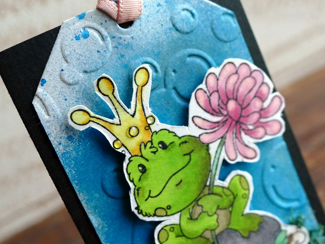 Whimsy Stamps Frog Prince Artisttradingcard