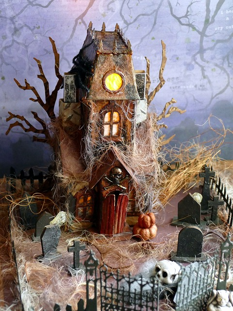 Sizzix Bigz L Die - Village Manor - Tim Holtz  Ghost House