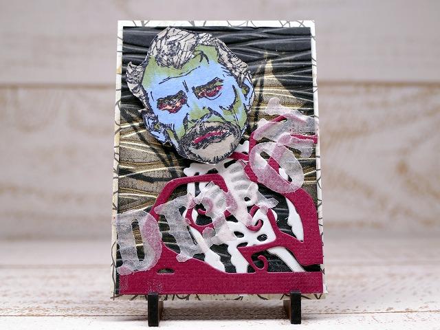 Steampunk Selfies, Gents Artisttradingcard