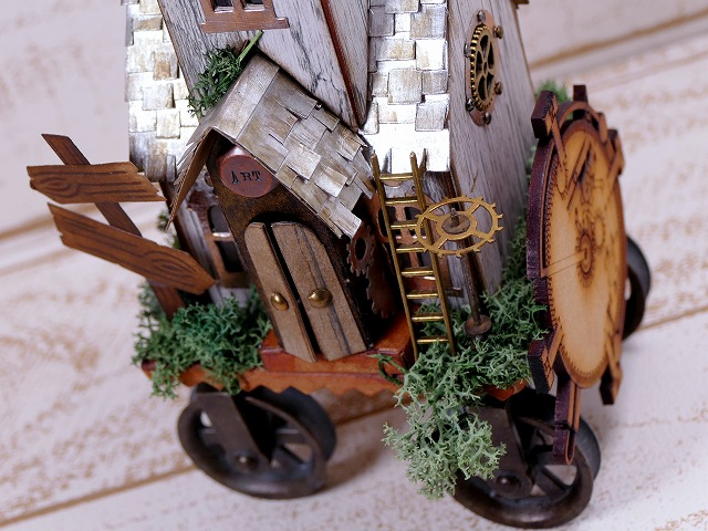 Villagemanor by Tim Holtz - Steampunk House
