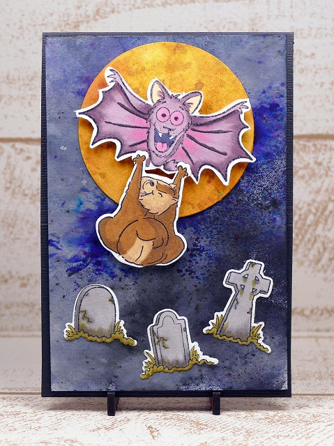 Your Next Stamp - Halloween Easel Card