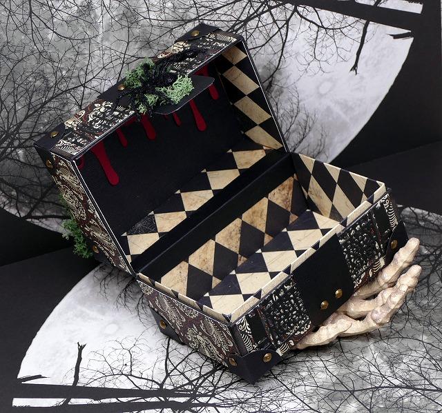 DIY Paper Halloween Box