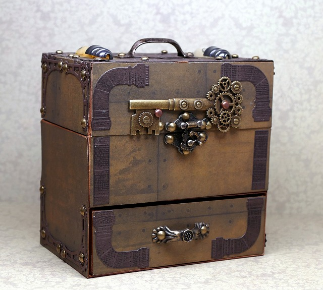 DIY Paper Steampunk Box