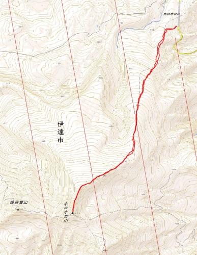 ホロホロ山log 20160501