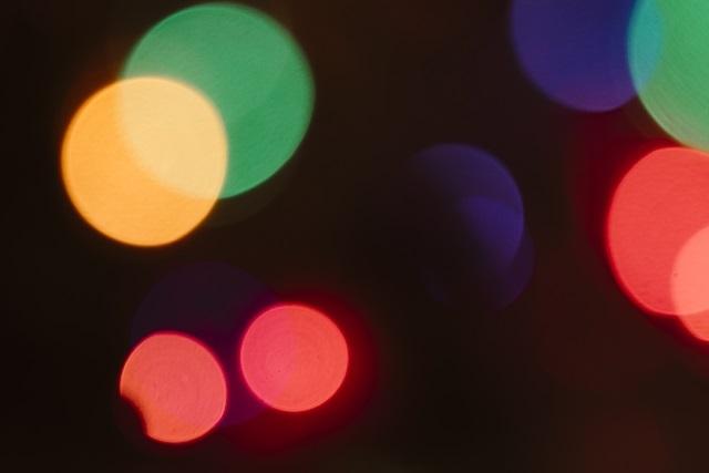 LED光の三原色時計分解