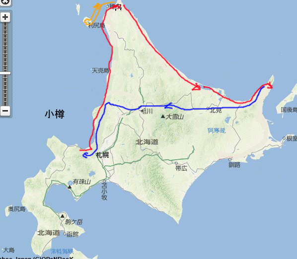 北海道ツーリング2016