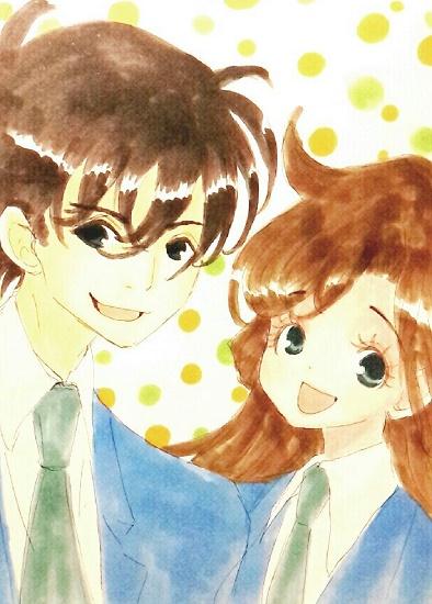 高校生探偵と空手少女。