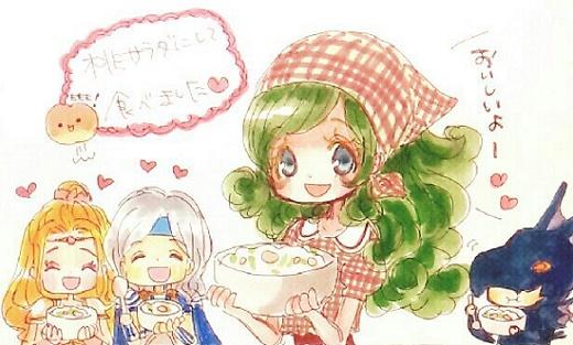 桃サラダ!