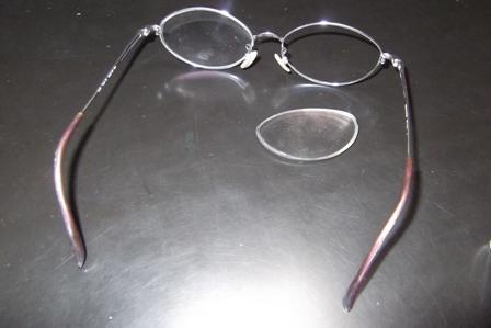 マミィの眼鏡を壊したり