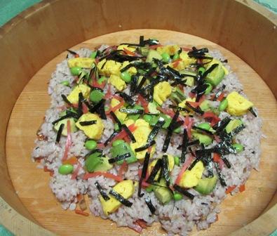 ダディ作のチラシ寿司