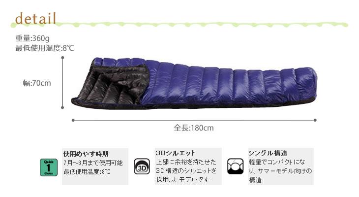 寝袋 ISUKA Air 150X (4)