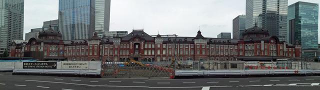 東京駅@駅前絶賛工事中