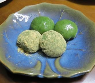 ヨモギ餅(1)