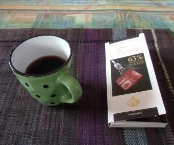 マダガスカルでコーヒーとチョコ