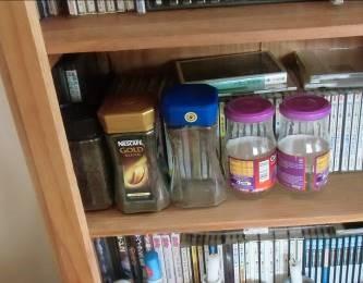 コーヒー滓の保存(瓶詰)