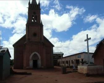 マダガスカルの教会