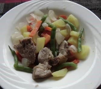 男料理3肉炒め