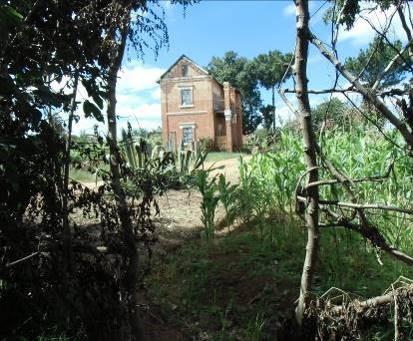 マダガスカルの田舎風景