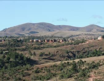 マダガスカルの禿山1