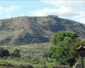 マダガスカルの禿山2