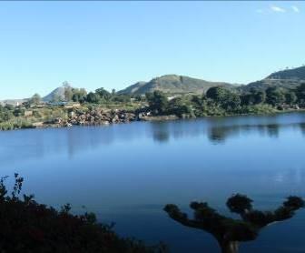 マダガスカルの高原の山1