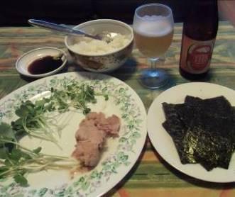 男料理手巻き寿司1