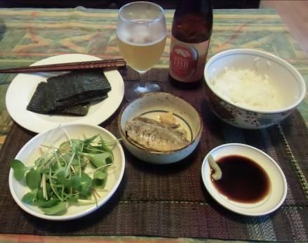 男料理手巻き寿司2