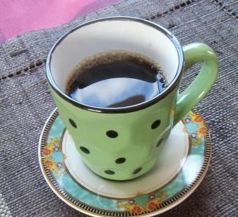 マダガスカルでコーヒーを飲む
