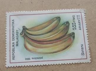 バナナ切手