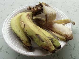 バナナ皮厚