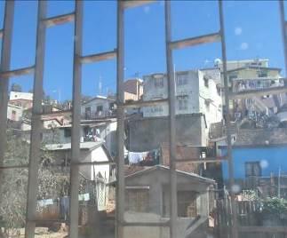 マダガスカル斜面の家