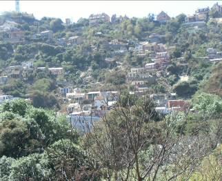 マダガスカル斜面の風景