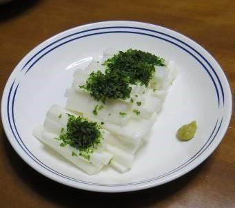 ヤマイモ料理生食用