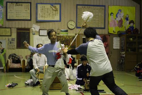 三葛神楽保持者会 練習8