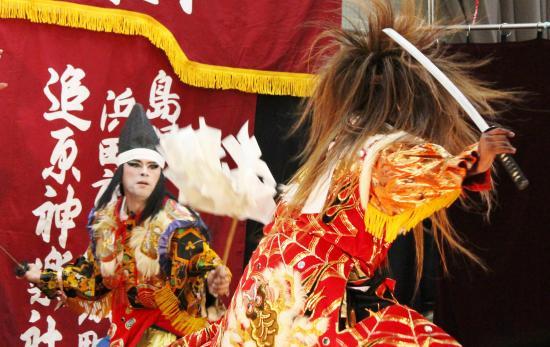 川本神楽団 滝夜叉姫4